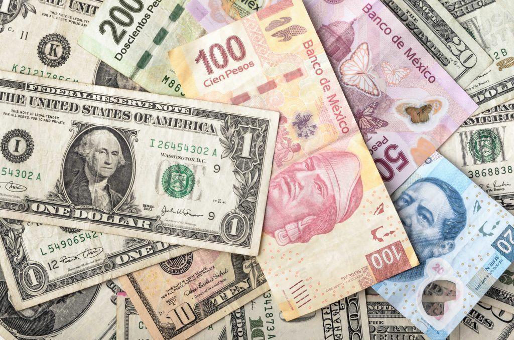 Convertir Dólar Peso Mexicano Conversor Cambio México Preciodolar Es