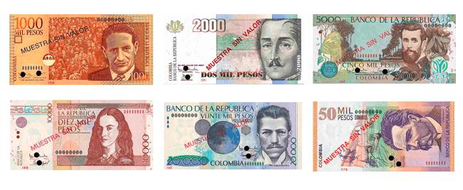 Convertir Dólar Peso Colombiano